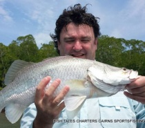 Estuary fishing for Barramundi