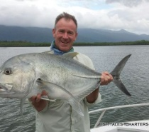POPPER FISHING ON THE RIVER FOR GIANT TREVALLY