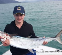 BLUEWATER (REEF) FISHING FOR SPANISH MACKEREL