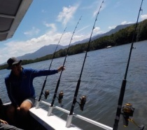 ESTUARY FISHING IN TRINITY INLET