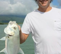RIVER FISHING FOR TREVALLY