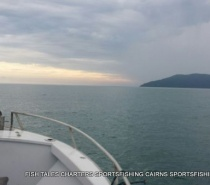 Travelling out from Cairns for a day of Bluewater (reef) fishing
