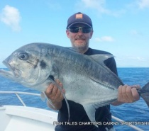 Popper fishing on the reef for Giant Trevally