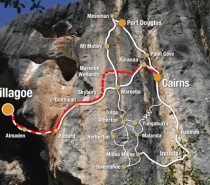 Billy Tea Chillagoe Caves & Outback Day Tour Map