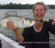 FISH TALES CHARTERS OX EYE HERRING ESTUARY FISHING.JPG