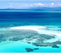 aerial view - great barrier reef