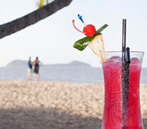 Come & enjoy a cocktail or drink at our Beach Shack