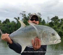RIVER FISHING FOR GIANT TREVALLY